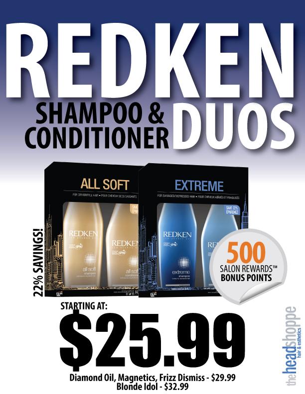 Redken Shampoo & Conditioner Duos