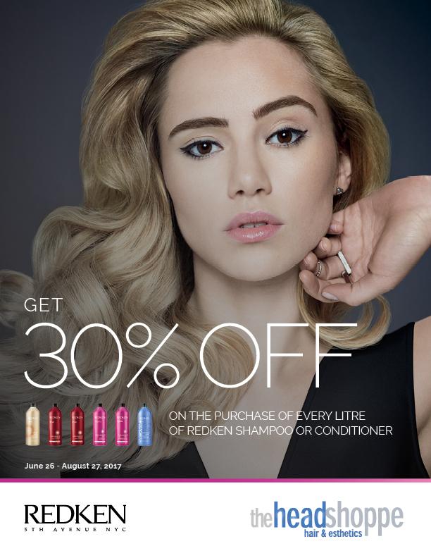 Save 30% off Redken Litres