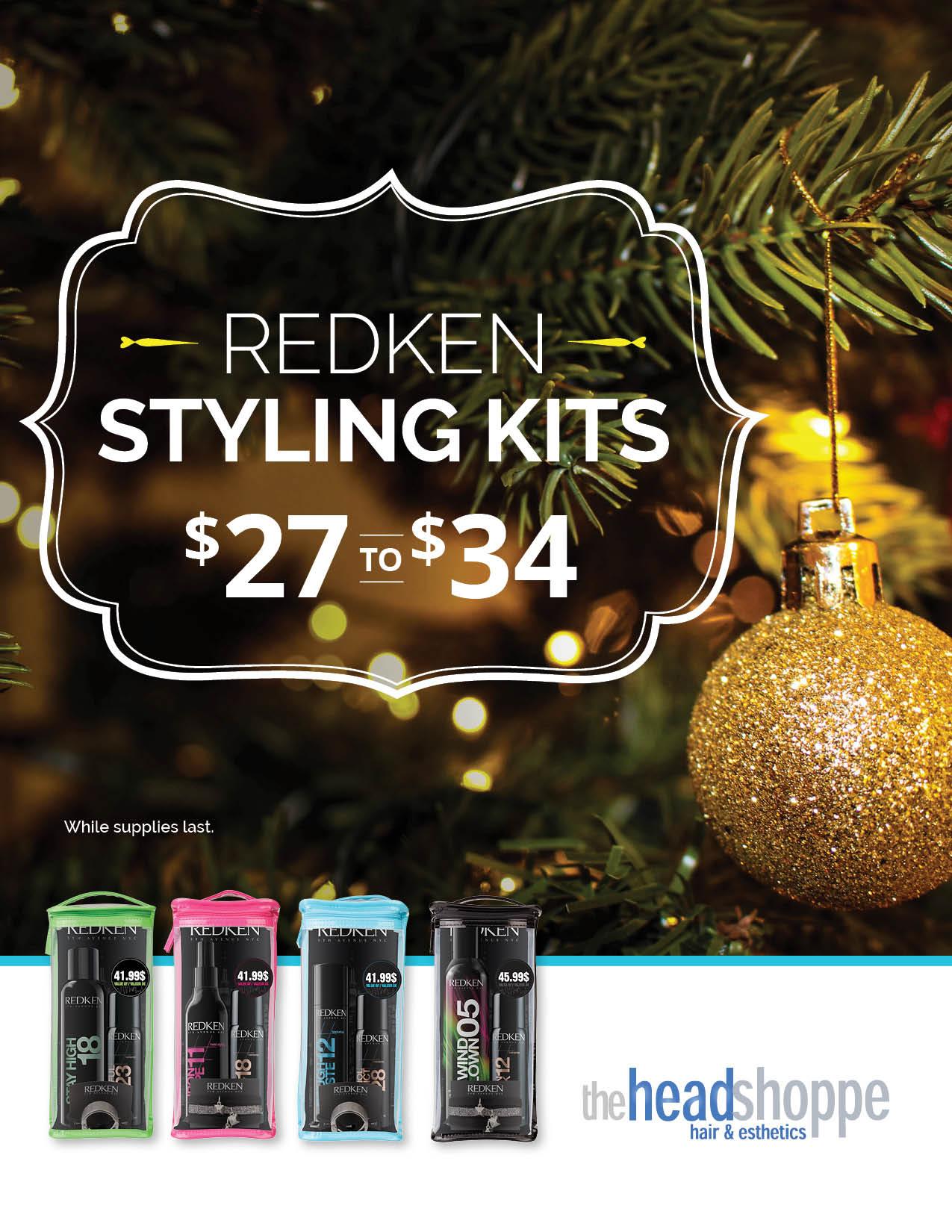 Redken Styling Kits