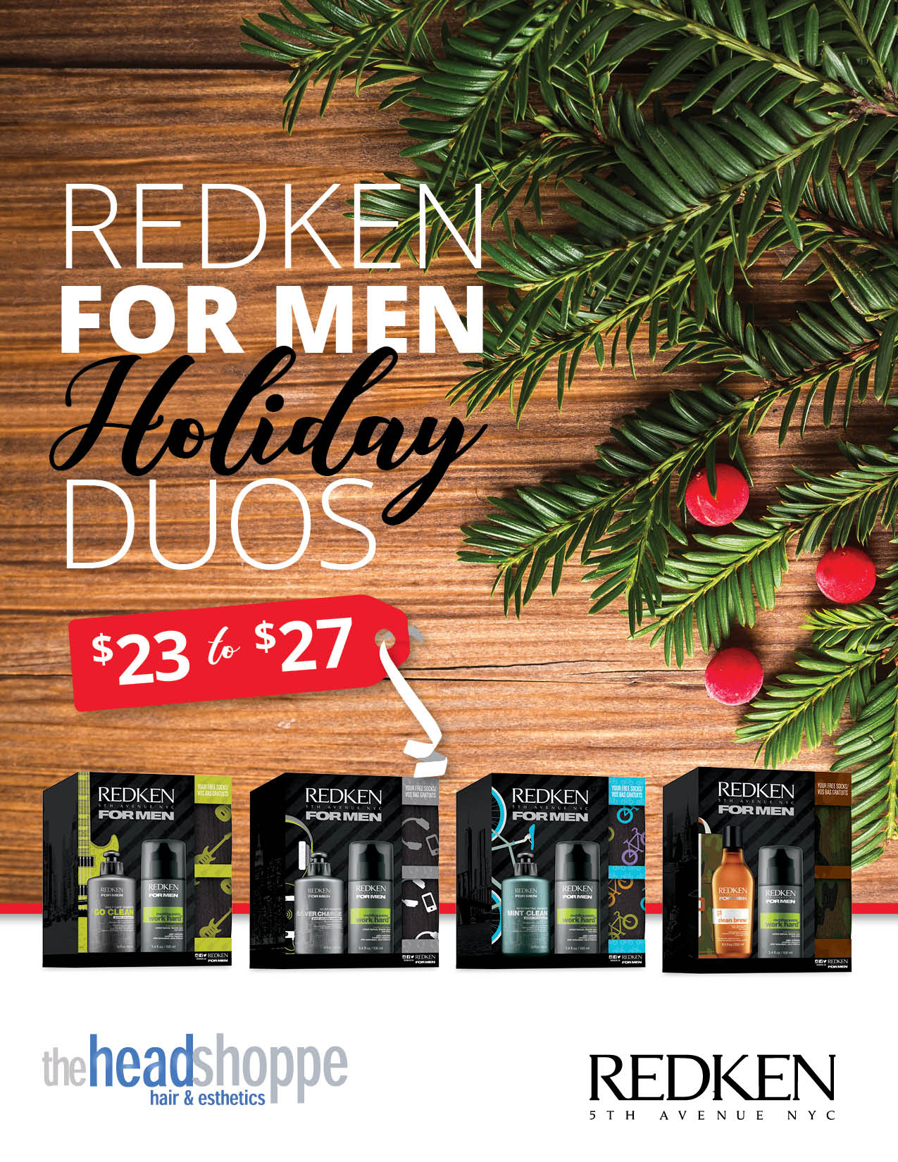 Redken for Men Duos