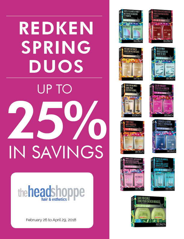 Up To 25% In Savings On Redken Duos