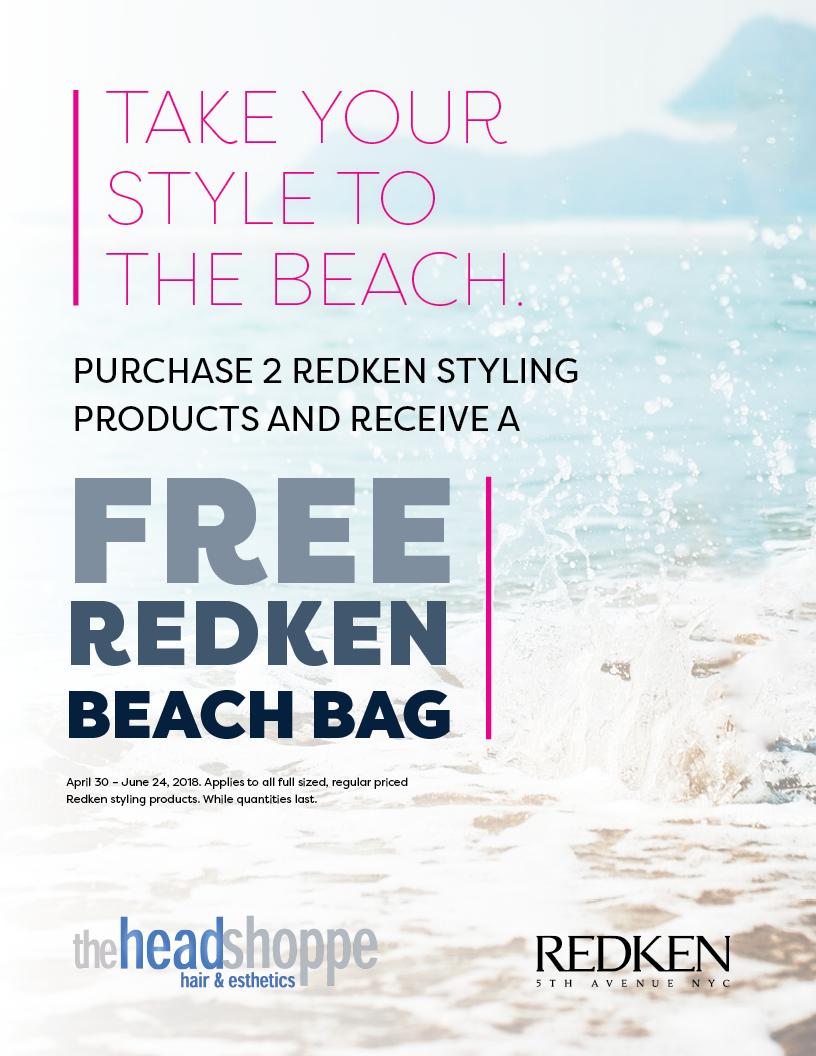 Redken Beach Bag Promotion