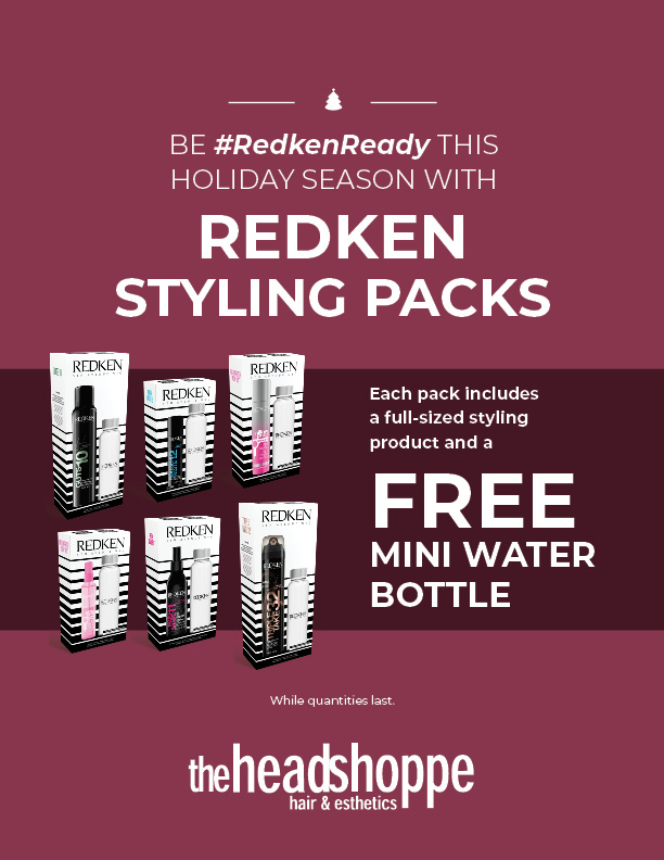 Redken Holiday Styling Packs