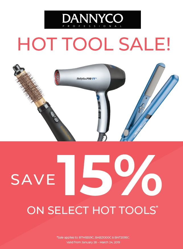 15% Off Select Hot Tools