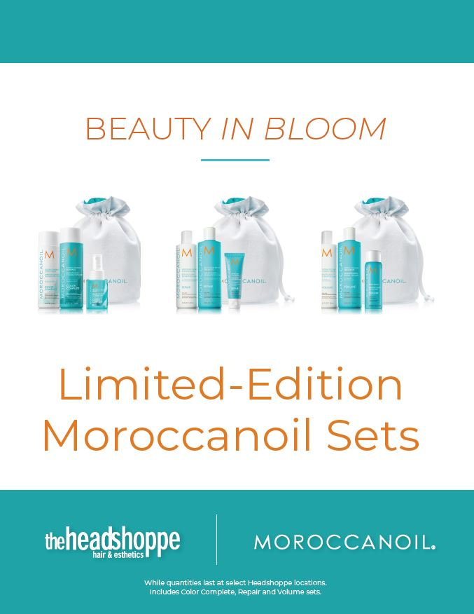 Beauty in Bloom: Moroccanoil Limited Edition Sets