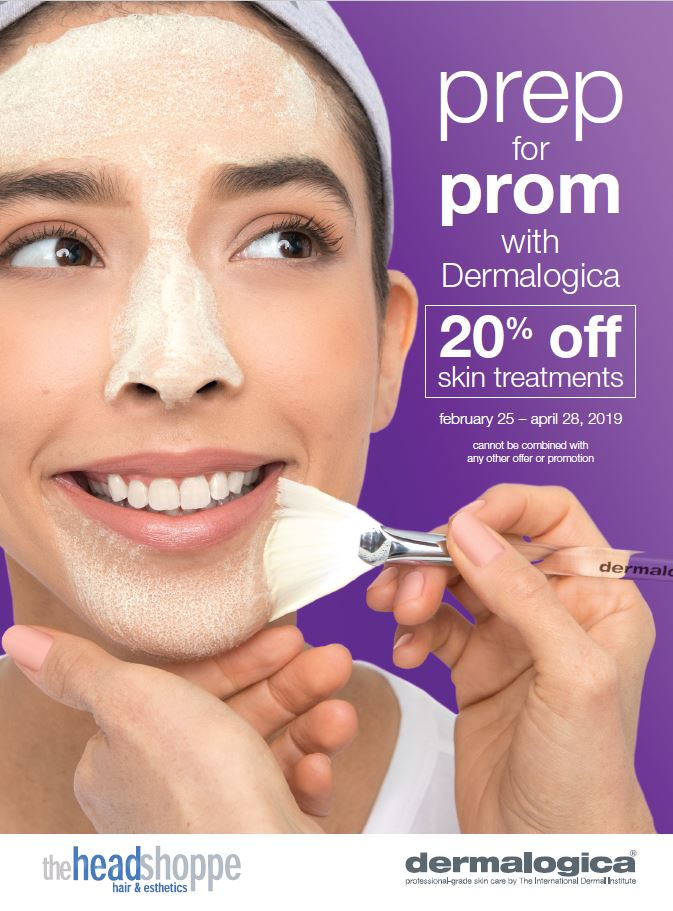 Prep for Prom: 20% off Skin Treatments