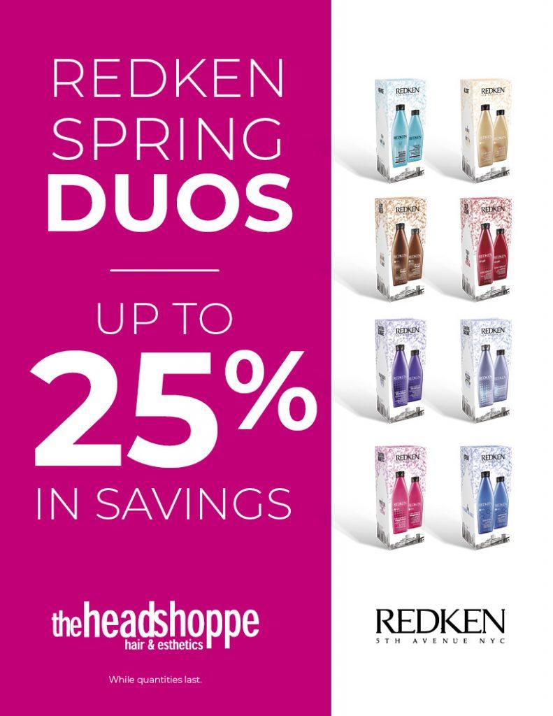 Redken Spring Duo, Head Shoppe