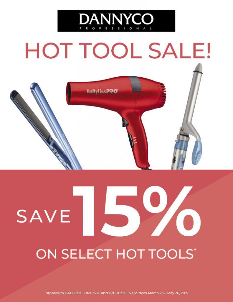 15% off Dannyco Hot Tools, Hdsp, Head Shoppe