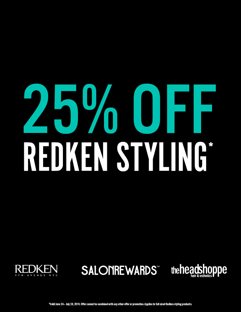 25% off Redken Styling
