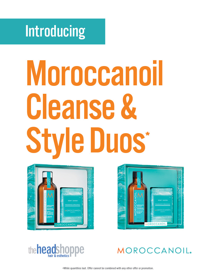 Moroccanoil Cleanse & Style Duos