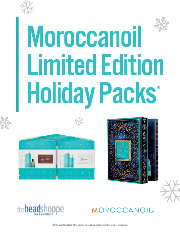 Moroccanoil Limited Edition Packs