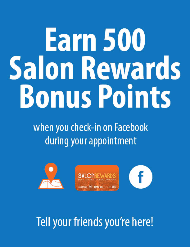 Earn 500 SRBPs when you check in on Facebook