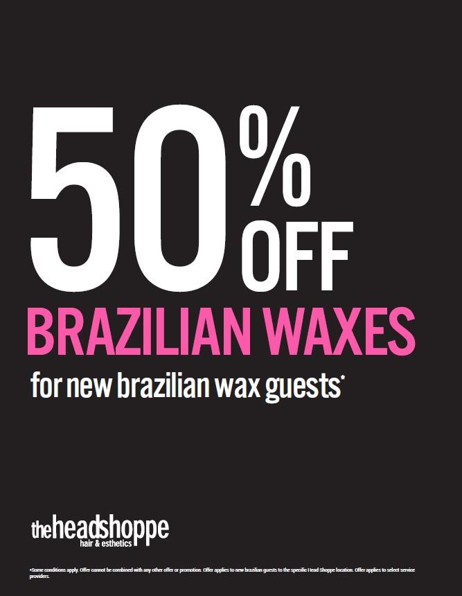 Brazilian Wax Sale