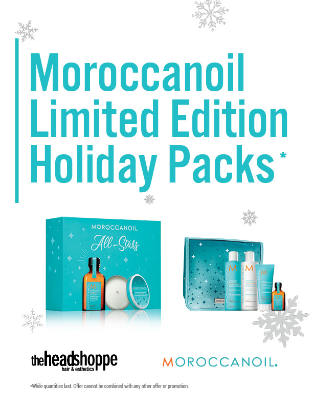Moroccanoil Holiday Packs
