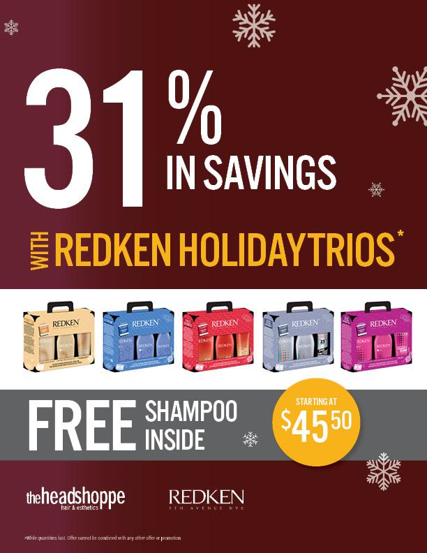 Redken Holiday Trios