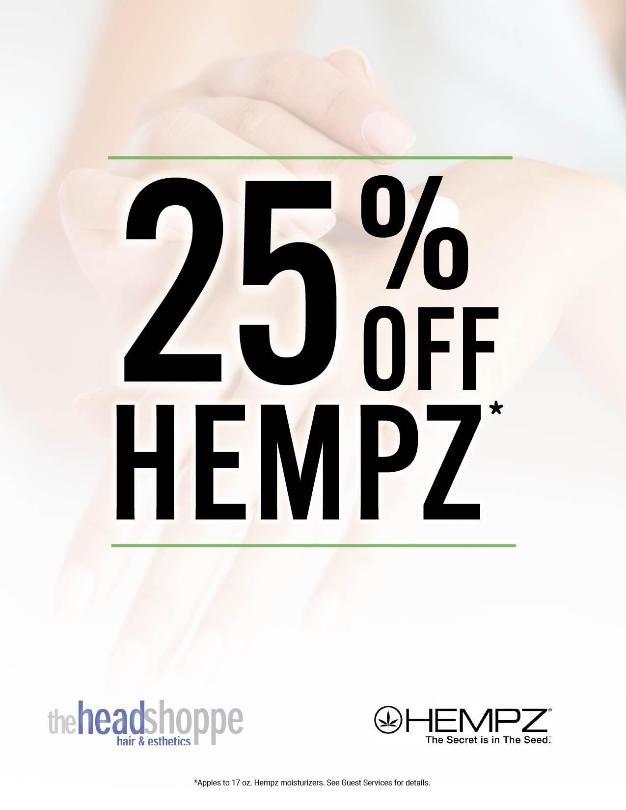 25% off Hempz