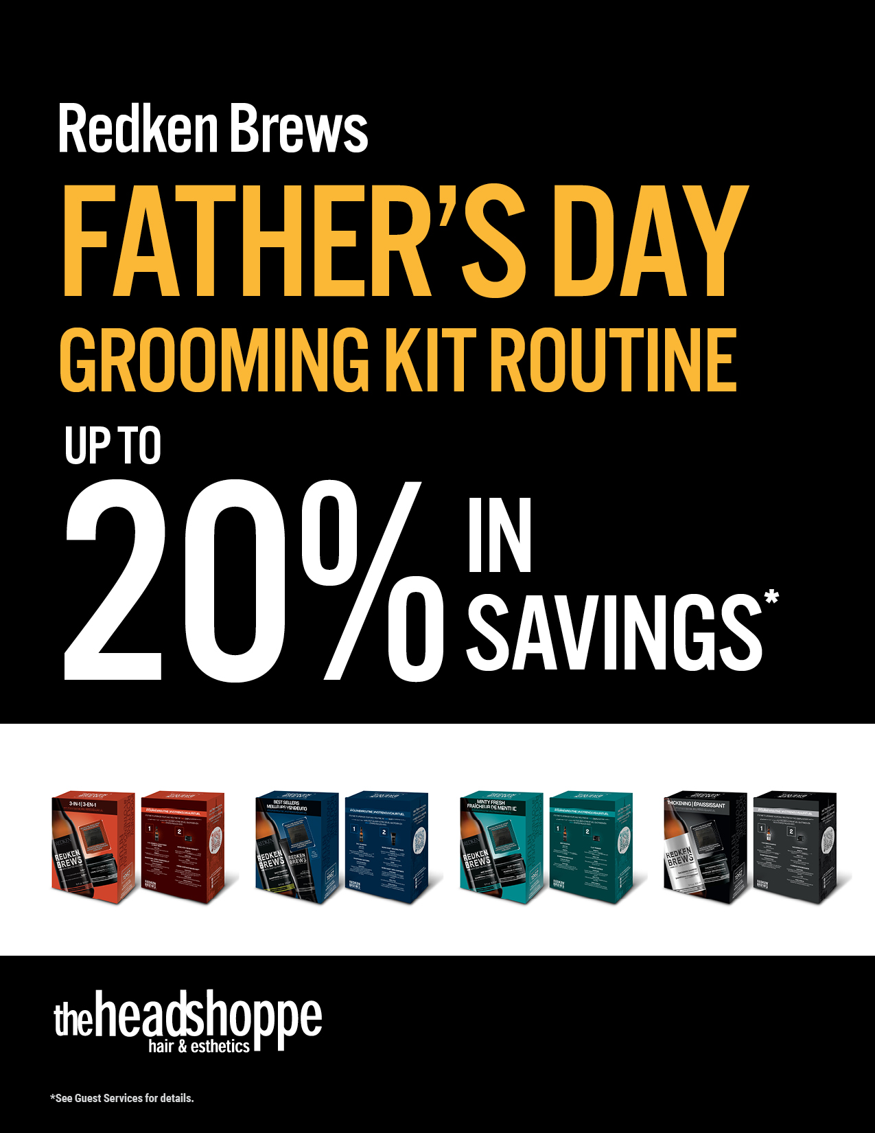 Redken Brews Father's Day Grooming Kit Routines